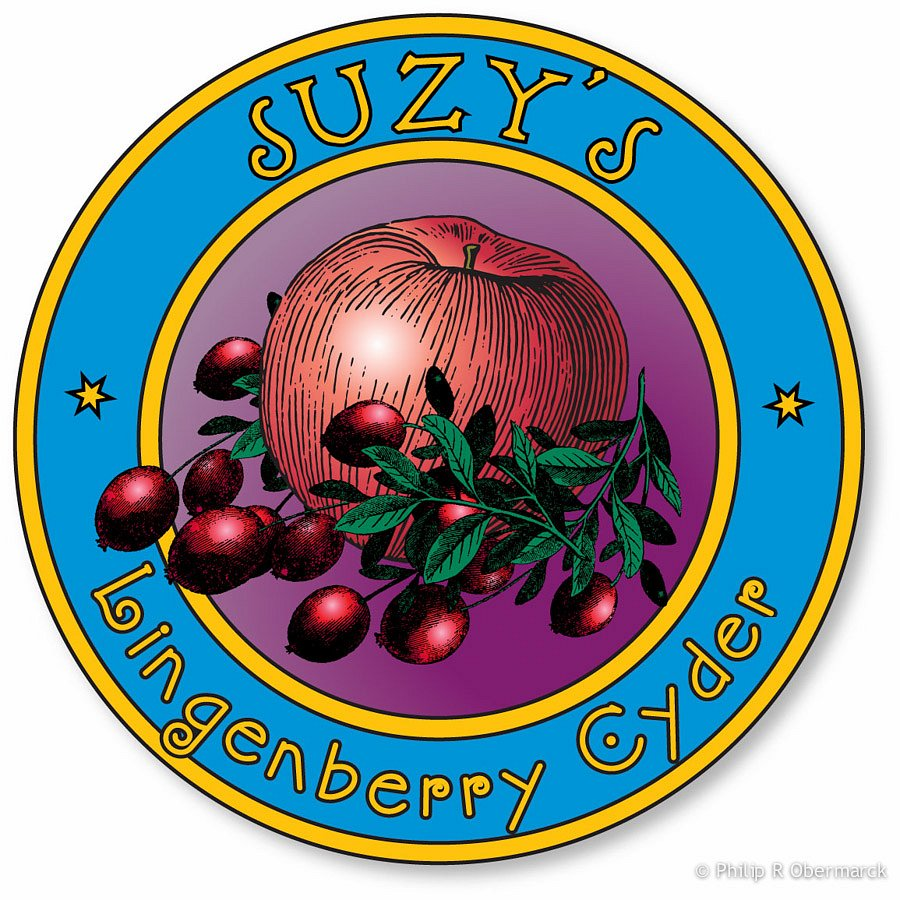 Berry Cider Label