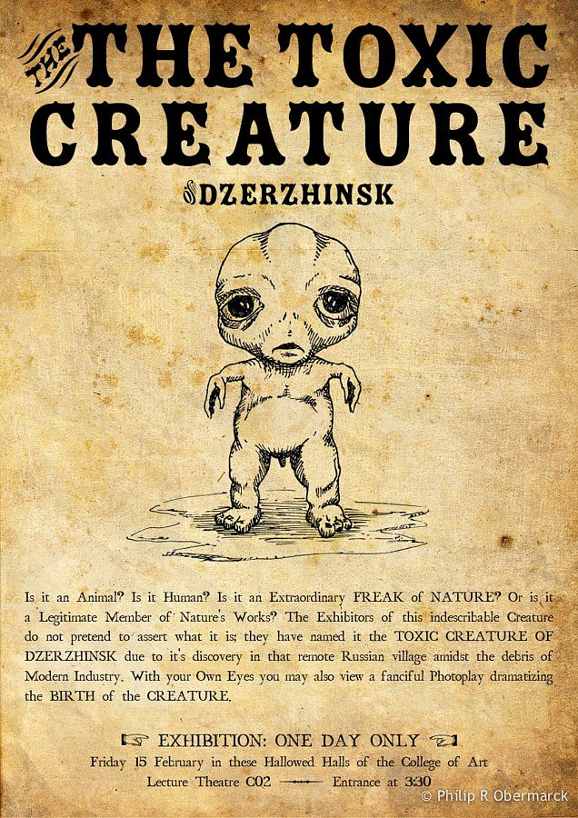Toxic Creature Poster